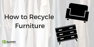 How To Recycle Furniture Earthcom - Donating sofa to charity