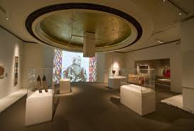 exhibition design a story of islamic embroidery