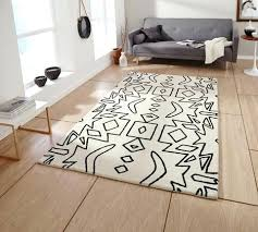 Black And White Modern Rugs White And Black Rug Spectrum Rug White Black Black White