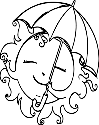 summer free sun images coloring page wecoloringpage