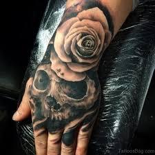80 best skull tattoos on hand