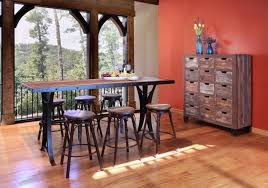 Bradleys Furniture Etc Utah Rustic Furniture And Mattresses - Counter height dining table swivel chairs