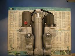 suzuki outboard df200 225 250 trim ptt assy 48000 93j22