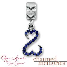 kay jewelers charms kayoutlet charmed memories open hearts dangle charm sterling silver