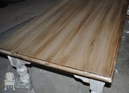 Wood Stain Medium Stain Water Based by Staining Over Chalk Painted Surfaces Vintage Charm Restored