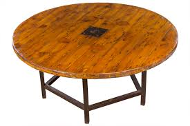 octagonal base rustic round table mecox gardens