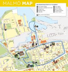 Namekagon River Map Malmo Tourist Map Top Rated Tourist Attractions In Malmo