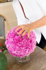 make your own carnation ball centrepiece u2014 chyka com