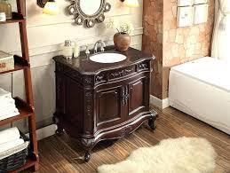 superb 37 inch vanity top bathroom vanity with top and sink rustic