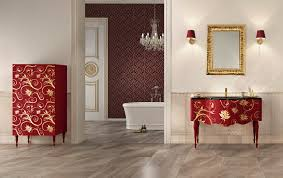 marvelous italian bathroom design modern style wooden vanity