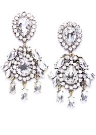 chandelier earings flawless luxury chandelier earrings happiness boutique