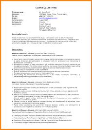 Resume Examples For Flight Attendant by Sample It Resume For Experienced Resume For Your Job Application