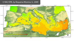Map Of Mediterranean Countries Experts Meeting Climate Change Impacts In The Mediterranean Mpas
