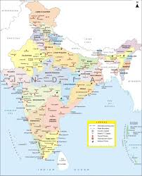 Map Nepal India india maps india travel map india travel guide