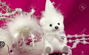 teddy decorations white christmas tree and decorations white teddy white