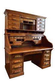 Antique Roll Top Secretary Desk by Mt Airy Ceo Roll Top Oak Desk Neoclassical Traditional Desks