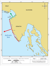 Adriatic Sea Map Slovenia Croatia Arbitration U2013 Is The Territorial Sea Delimitation