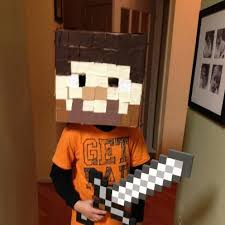 minecraft steve costume how to make a minecraft steve costume mommies