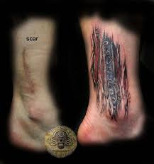 cover scar muscle tattoo by 2face tattoo on deviantart