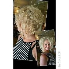 wedge one side longer hair best 25 curly stacked bobs ideas on pinterest short perm what