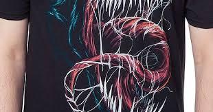 Human Anatomy T Shirts Black Venom T Shirt Venom