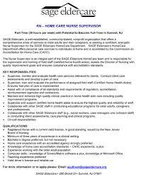 Registered Nurse Resume Examples Getessay Biz Nurse Supervisor Job Description This Sample Shows How You Can
