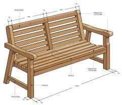panchina in legno da esterno arredo giardino fai da te come costruire una panca e sedia in legno