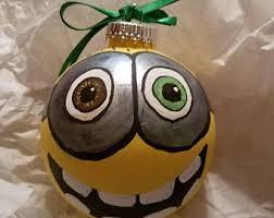 minion ornaments etsy