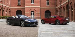 News 2018 Maserati Granturismo U0026 Grancabrio Debut At Goodwood