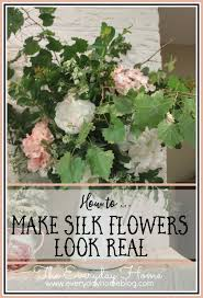 faux flowers how to use silk flowers so they look fool the eye real by the