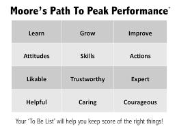 moore leadership u0026 peak performance