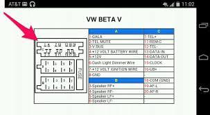 2000 vw gti radio wiring diagram 2000 wiring diagrams collection