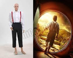 Hobbit Halloween Costume Aliexpress Buy Lord Rings Hobbit Bilbo Baggins