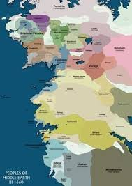 a map of middle earth political map of middle earth 1700 iii lotr middle