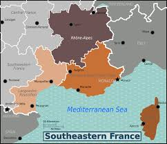 Map Of South Of France by Southeastern France U2013 Travel Guide At Wikivoyage