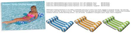 airhead designer series pool floats