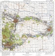 Msu Maps Index Of Salnikov Maps Kavkaz