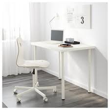 Office Table Desk Linnmon Adils Table White Ikea