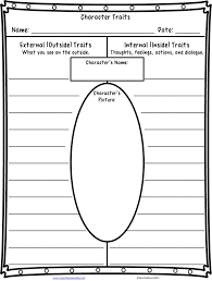 character trait worksheet worksheets