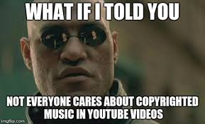Meme Youtube Videos - uses fall out boy song in youtube video i don t care imgflip