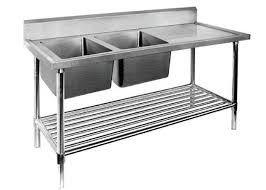 stainless steel prep table with sink restaurant prep table with sink 1 2 3 sinks stainless steel sink