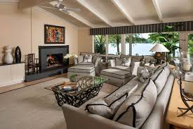 Tan And Gray Living Room by Decorating Oversized Couches Ideas As Modern Furniture Design In