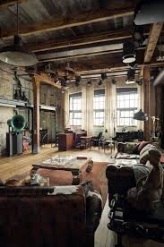 wood brick glass high ceilings perfect u2022 u2022 industrial and