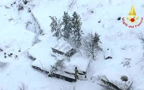 italy avalanche survivor made desperate call for help after hotel