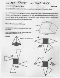 grade 12 college math surface area of composite figures