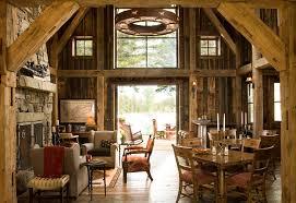 rustic open floor plans 8 montana mountain barn retreat 2 rustic open floor plan love the