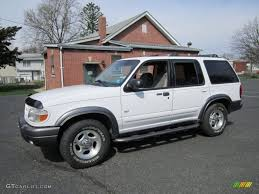 Ford Explorer White - 1999 oxford white ford explorer xlt 4x4 62976871 gtcarlot com