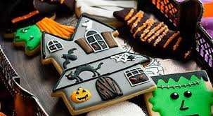 Decorated Halloween Sugar Cookies by Halloween Cookies Best Halloween Cookies On Pinterest
