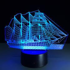 t駘騅ision pour chambre voile bateau acrylique 3d stéréo vision le 7 changement de