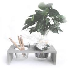 plante d駱olluante bureau cadeau d entreprise écologique pot verre et plante publicitaire